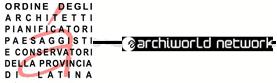 Logo ordine Architetti Latina