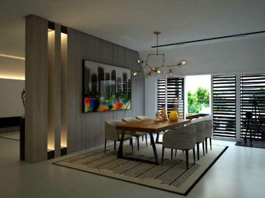 Il render architettonico per la ristrutturazione di una casa.