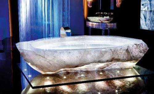 La vasca da bagno da un milione di euro