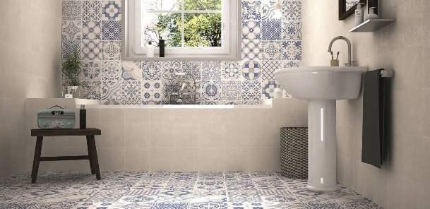 Azulejos in bagno.