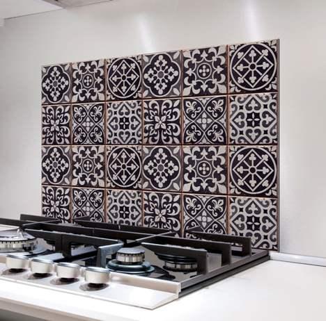 Azulejos in cucina.