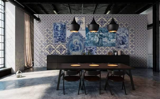 Azulejos tradizionali.