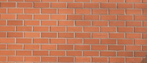 Muro faccia a vista con mattoni moderni e pieni