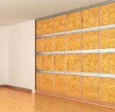 Lavoro di isolamento termico interno ad appartamento