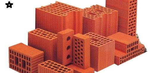 Immagine delle varie tipologie di laterizio per muratura