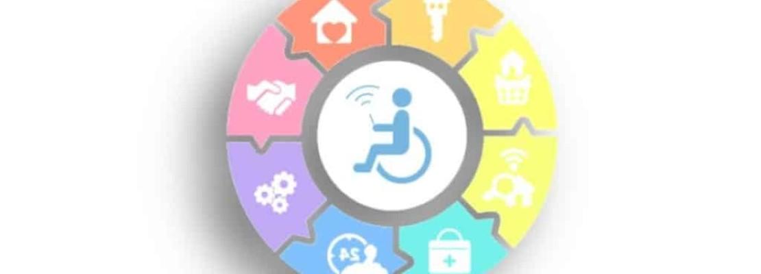 Immagine che rappresenta l'aiuto della domotica nella disabilità