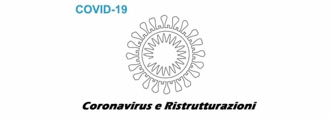 Coronavirus e ristrutturazioni: cosa sapere