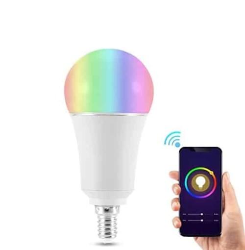 Una lampadina intelligente gestita da cellulare