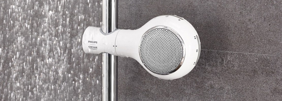 Modello di radio doccia impermeabile