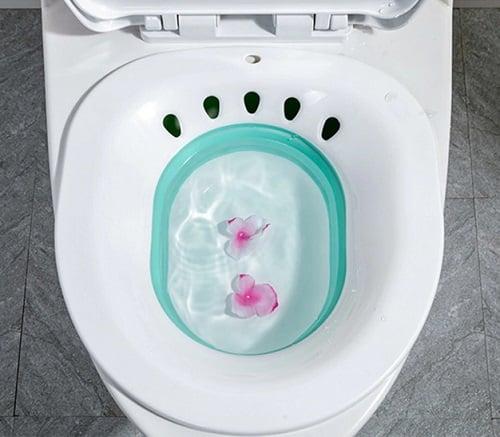 Un Bidet portatile per l'igiene delle parti intime