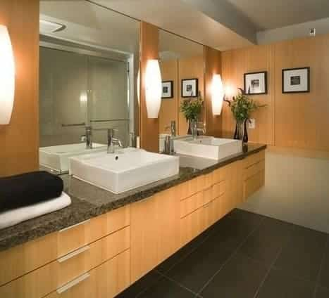 La scelta dei colori, in un bagno cieco, è estremamente importante.