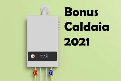 Ecobonus caldaia 2021