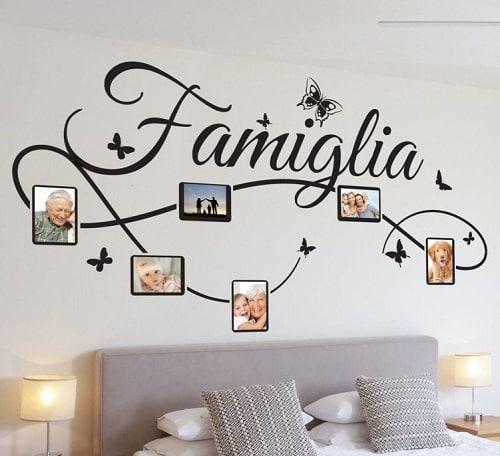 Decoro delle pareti di una stanza